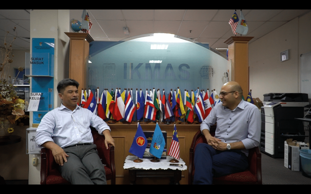 Dr. Bigdeli speaks with Prof. Sufian Jusoh about Trade, Law and ASEAN