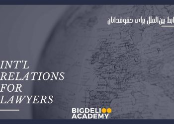 INT'L RELATIONS FOR LAWYERS
